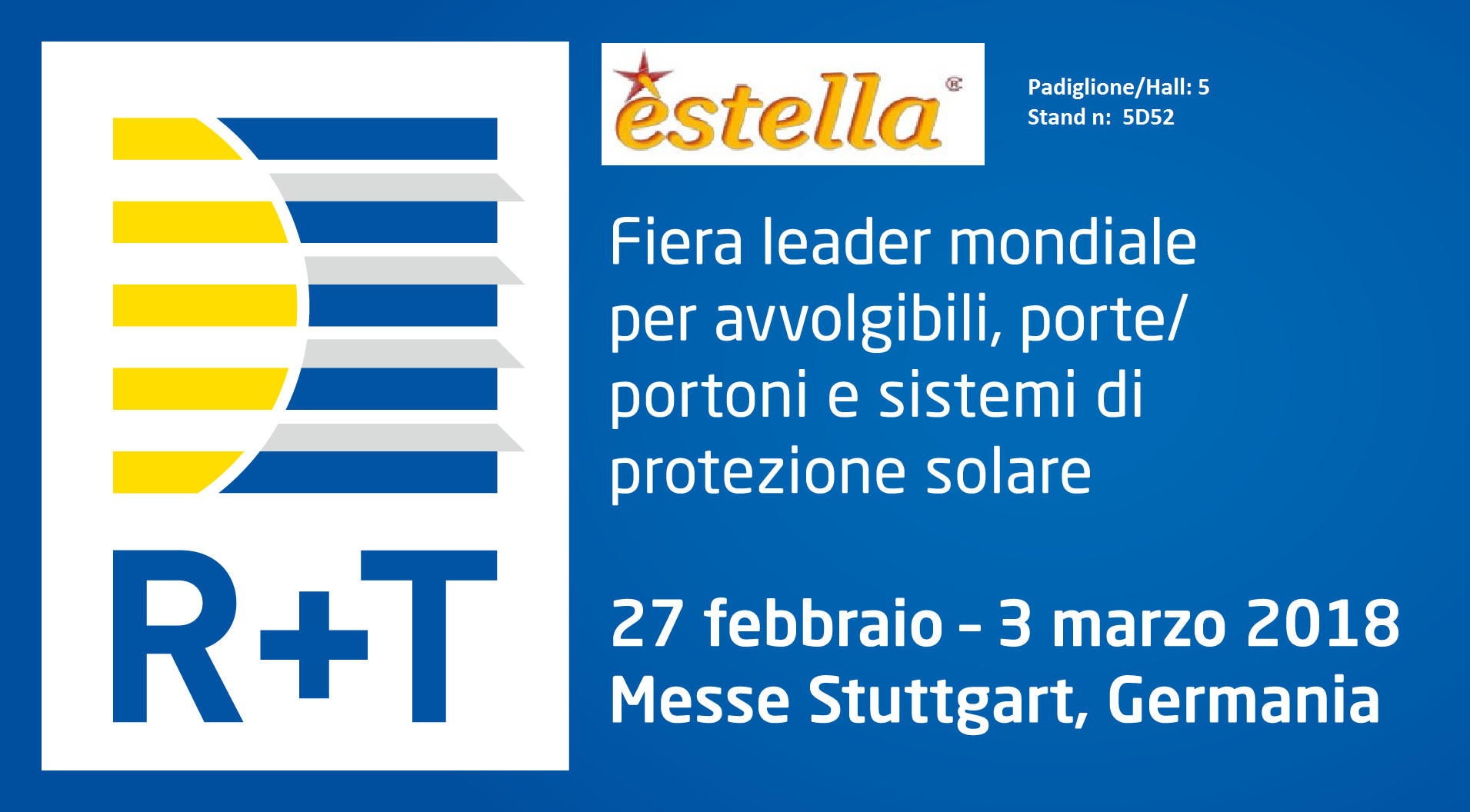 Estella TOUR · R+T